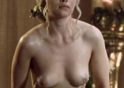 Emilia Clarke Nude / Daenerys Targaryen / Kaleassi Nudes
